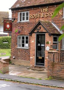 rose and crown large 2 straightened