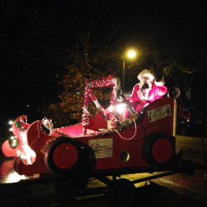 Rennie Grove Hospice Care Santa Float