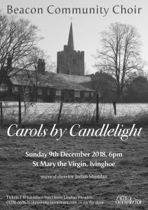 Description of Carols by Candlelight event on 9-12-18