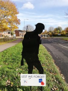 Silent Soldier on Marsworth Road